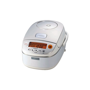 【日本直邮】象印/ZOJIRUSHI NP-BT10-WB 七段 IH电磁压力白金 压力电饭煲