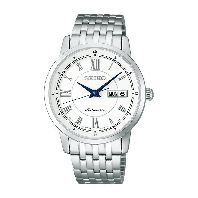 【日本直邮】精工/SEIKO 手表 时尚全自动机械男表 白色SARY025