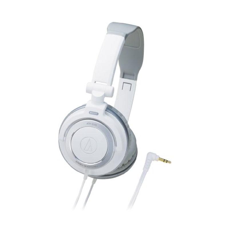 【日本直邮】铁三角/Audio-technica  便携耳机ATH-SJ55-WH