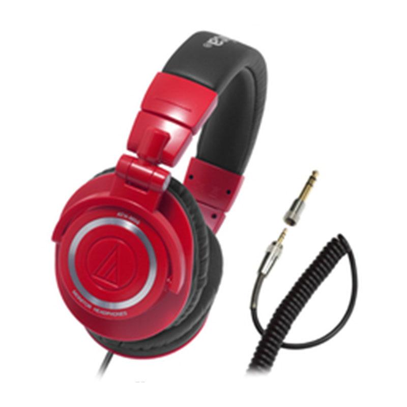 【日本直邮】铁三角/Audio Technica 红色限定版头戴耳机/专业监听耳机 ATH-M50 RD