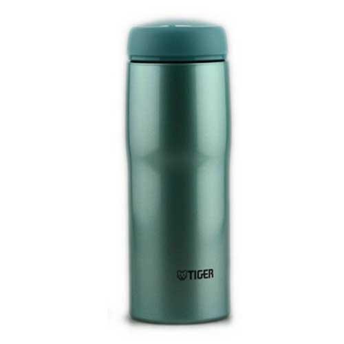 【日本直邮】虎牌/Tiger  男女办公用不锈钢保温杯 0.48ml   MJA-A048-AM(高光银蓝)
