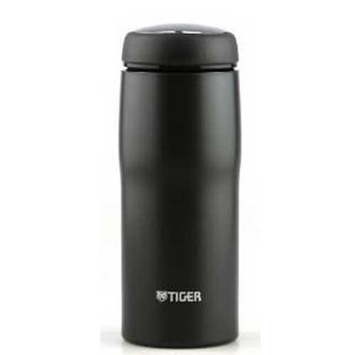 【日本直邮】虎牌/Tiger  男女办公用不锈钢保温杯 0.48ml   MJA-A048-KC(银黑色)