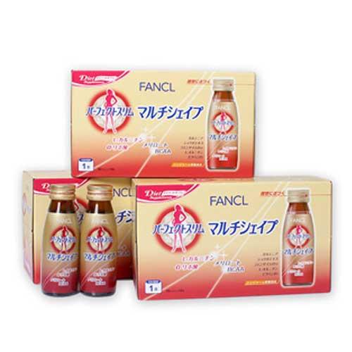 【日本直邮】芳珂/Fancl   完美纤体燃脂饮料 50ml*10瓶*3盒(约30日分)