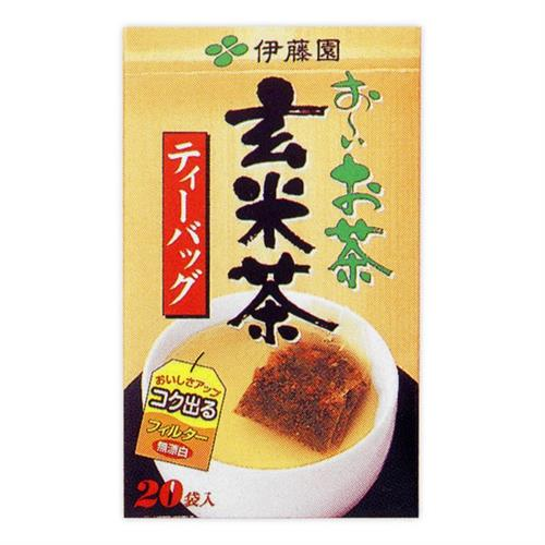 伊藤園 美味玄米茶 2.5g×20P