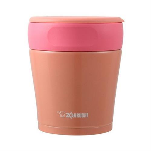 象印 /ZOJIRUSHI不锈钢保温保冷焖烧杯 SW-GA26  260ml 真空小容量  橘粉色
