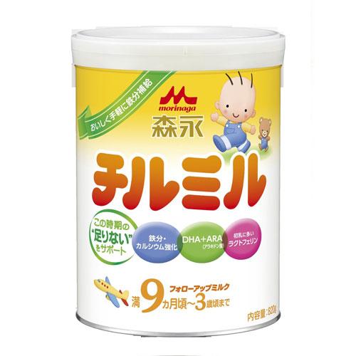 森永/MORINAGA 9个月~3岁宝宝适用二段奶粉 820g