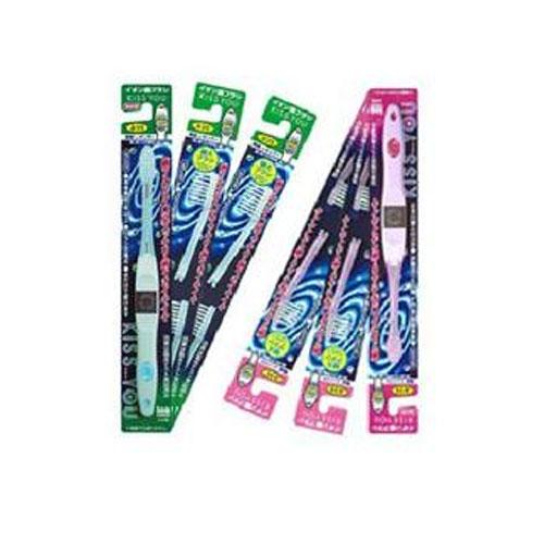 吻你/KISS YOU 不用牙膏的负离子牙刷套装(2个牙刷  8个替换装)
