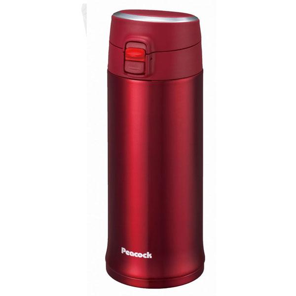 孔雀/PEACOCK 不锈钢真空保温杯 AML-50(R) 红色 500ml