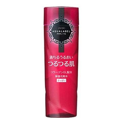 资生堂/SHISEIDO  AQUALABEL 水之印高密度保湿化妆水/爽肤水 200ml 清爽型