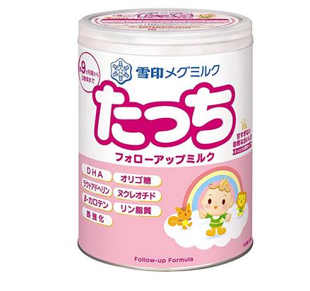 雪印/SNOWSCENT  奶粉2段 850g//听