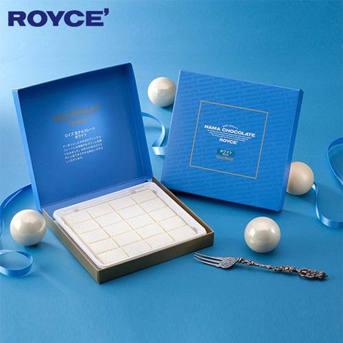 【顺丰包邮】【中国现货】罗伊斯/ROYCE 北海道白巧克力味生巧克力礼盒 20枚 3盒装