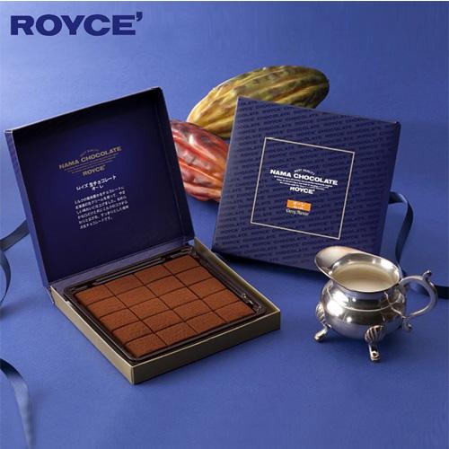 【顺丰包邮】【中国现货】罗伊斯/ROYCE 北海道原味生巧克力礼盒 20枚 3盒装