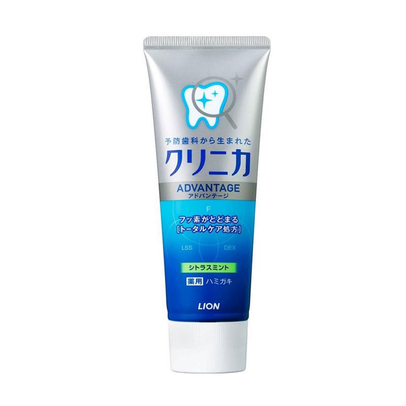 【香港直邮】狮王/LION CLINICA全效净护牙膏柑橘薄荷 130g/支