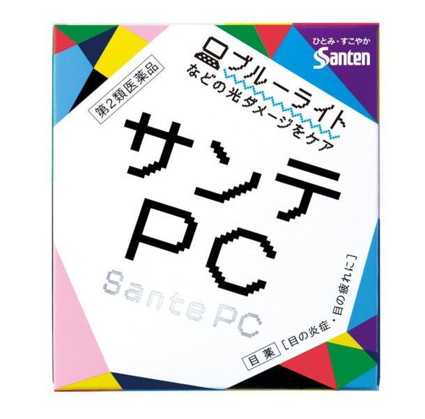【香港直邮】【2件装】日本SANTEN-FX参天PC电脑手机蓝光专用眼药水 缓解眼疲劳充血 12ml/瓶