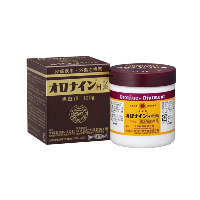 【香港直邮】日本Otsuka大塚制药娥罗纳英软膏 100g/瓶