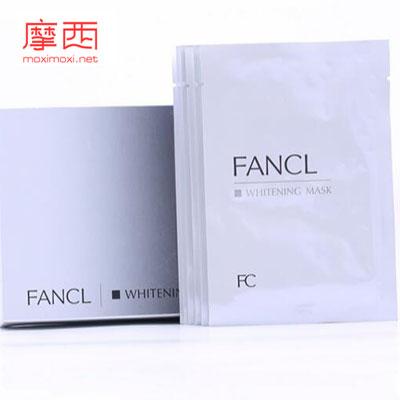 芳珂/Fancl 淡斑白皙修护精华面膜贴提亮肤色6片3758-11