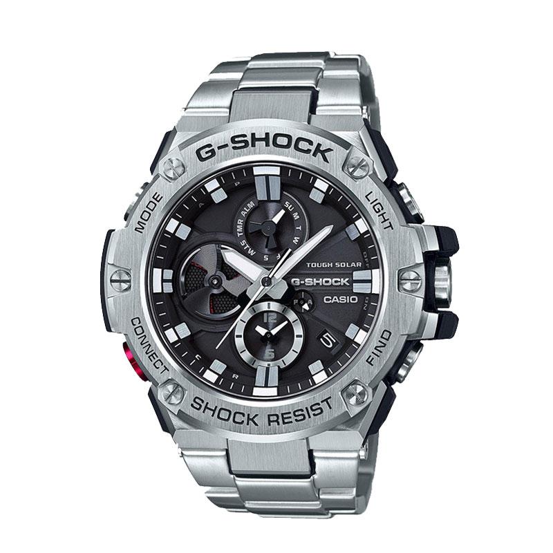 【EMS包邮包税】卡西欧/CASIO G-SHOCK GST系列运动防水电波腕表手表 GST-B100D-1AJF