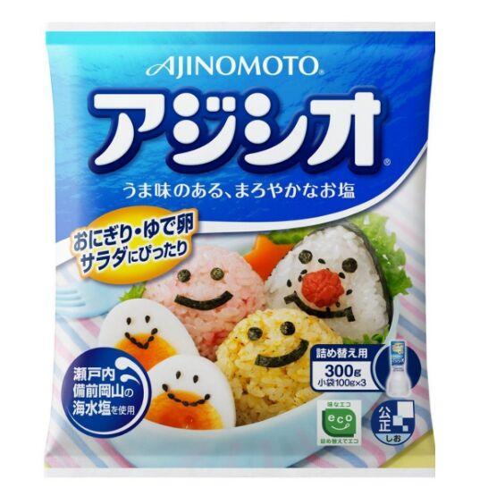 【包邮】【中国现货】味之素/AJINOMOTO  健康盐宝宝盐 补充装300g
