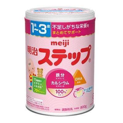 明治/MEIJI 二段奶粉 800g 4罐装