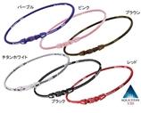 【日本直邮】法力藤钛phiten 项圈/法藤X50 颈椎宝 钛项环  紫色,45cm