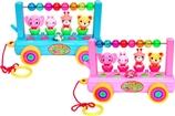 【日本直邮】津山玩具  欢欣雀跃森动物乐园(液晶盒)A023 适合3岁以上 蓝色