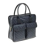 【日本直邮】格拉迪尼/Gherardini ゲラルディーニ GH0201 TP/NAVY 手提包
