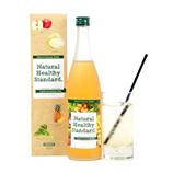 【日本直邮】Natural Healthy Standard. 矿物质酵素原液饮料 苹果风味 720ml