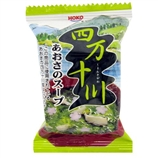 【日本直邮】宝幸四万十川紫菜汤5克×10食入