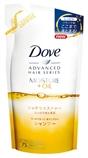 【日本直郵】多芬/Dove 奢華油保濕發絲內外修護洗發水330ml  替換裝