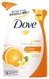 【日本直邮】多芬/Dove 保湿滋润香橙味沐浴露380ml 替换装