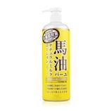 【日本直邮】北海道Loshi 马油身体乳 485ml