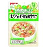 【日本直邮】贝亲/Pigeon  金枪鱼和蔬菜的炖菜 80g 12个月+