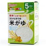 【日本直郵】和光堂/Wakodo 米粉 嬰兒米粥 純白米糊 10包/盒 5個月起