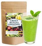 【日本直郵】smoothie bar酵素 綠色香蕉冰沙奶昔代餐粉200g