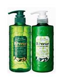 REVEUR 染烫修护型木质香无硅洗护套装 500ml  绿色