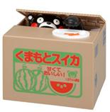 【预售】【日本直邮】熊本/Kumamon 萌熊系列搞笑存钱罐  1个