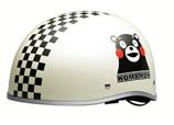 【日本直邮】熊本/Kumamon 萌熊系列轻便电动机车安全头盔  1个 BH-21W 白色