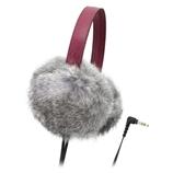 鐵三角/Audio Technica 女式耳機頭戴式耳機 ATH-FW55 GY